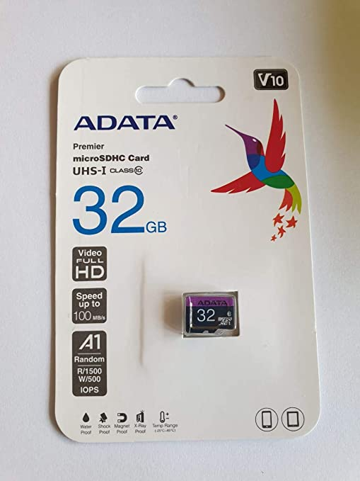 ADATA 32GB, microSDHC, Class 10 Memoria Flash Clase 10 UHS-I ...