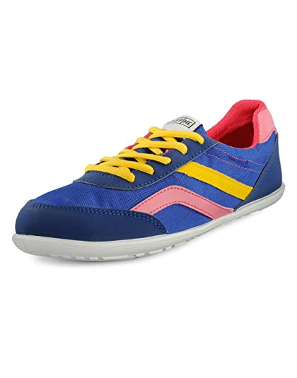 f3ffddb3529 Yepme Women s Blue Synthetic Casual Shoes - 5UK  Buy Online at Low ...
