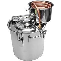 TOPQSC 2 Galones 8L Agua Alcohol Destilador Tubo