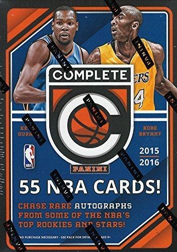(2015 2016 Panini Complete Series NBA Basketball Unopened Blaster Box of Packs Premier Edition)