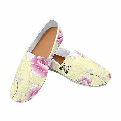 kerr kellogg Alpargatas Zapatos Mujer Zapatos Mocasines Slip-On Canvas Boat Zapatos Flat Sneaker. Pasa el ratón por ...