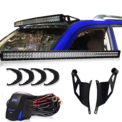 Amazon.com: TURBOSII 50Inch 288W Led Light Bar Offroad Led Bar Spot on ford gas pedal, ford vacuum harness, ford fuel pump assembly, ford battery cover, ford engine harness, ford temp sensor, ford rear bumper bracket, ford coil harness, ford super duty hub conversion, ford heater switch, ford computer harness, ford air bag module, ford parking assist sensor, ford abs unit, ford key switch, ford cigarette lighter, ford ac clutch, ford vacuum switch, ford radio display, ford duraspark harness,