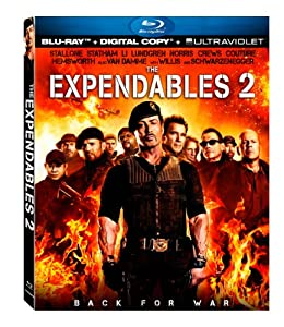 Cover Image for 'Expendables 2 [Blu-ray + Digital Copy + UltraViolet], The'