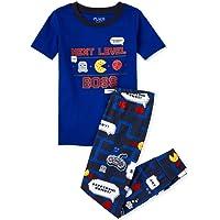 The Children's Place Conjunto de pantalón de Pijama de Manga Corta Juego de Pijama para Niños
