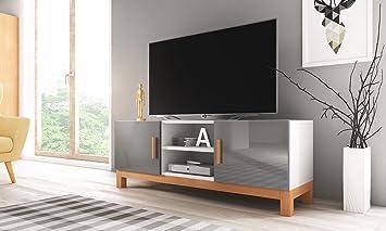 Lahti – Mueble TV Moderno/Mesa para TV/Elementos de Madera ...