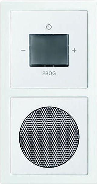 Busch-Jaeger 8240-84 WLAN Radio Komplettset, 2 W, Weiß: Amazon.de ...