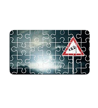 68f9fd6a41bd83 Bad Weather - Caution - Risk of Storm - Warning Sign Puzzle - sonstige