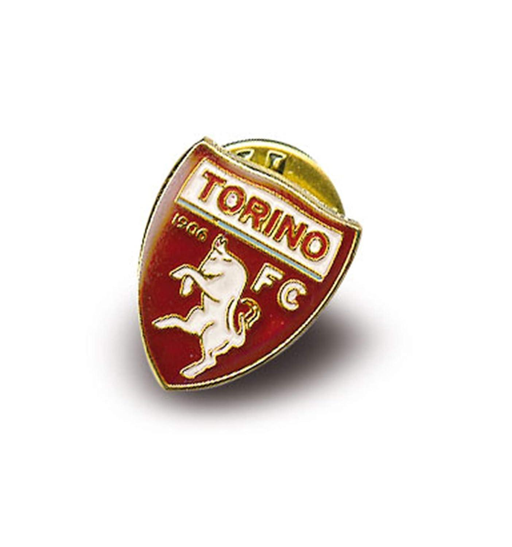 tex family Distintivo Spilla in Metallo Torino Calcio F.C e Cartolina Torino /È