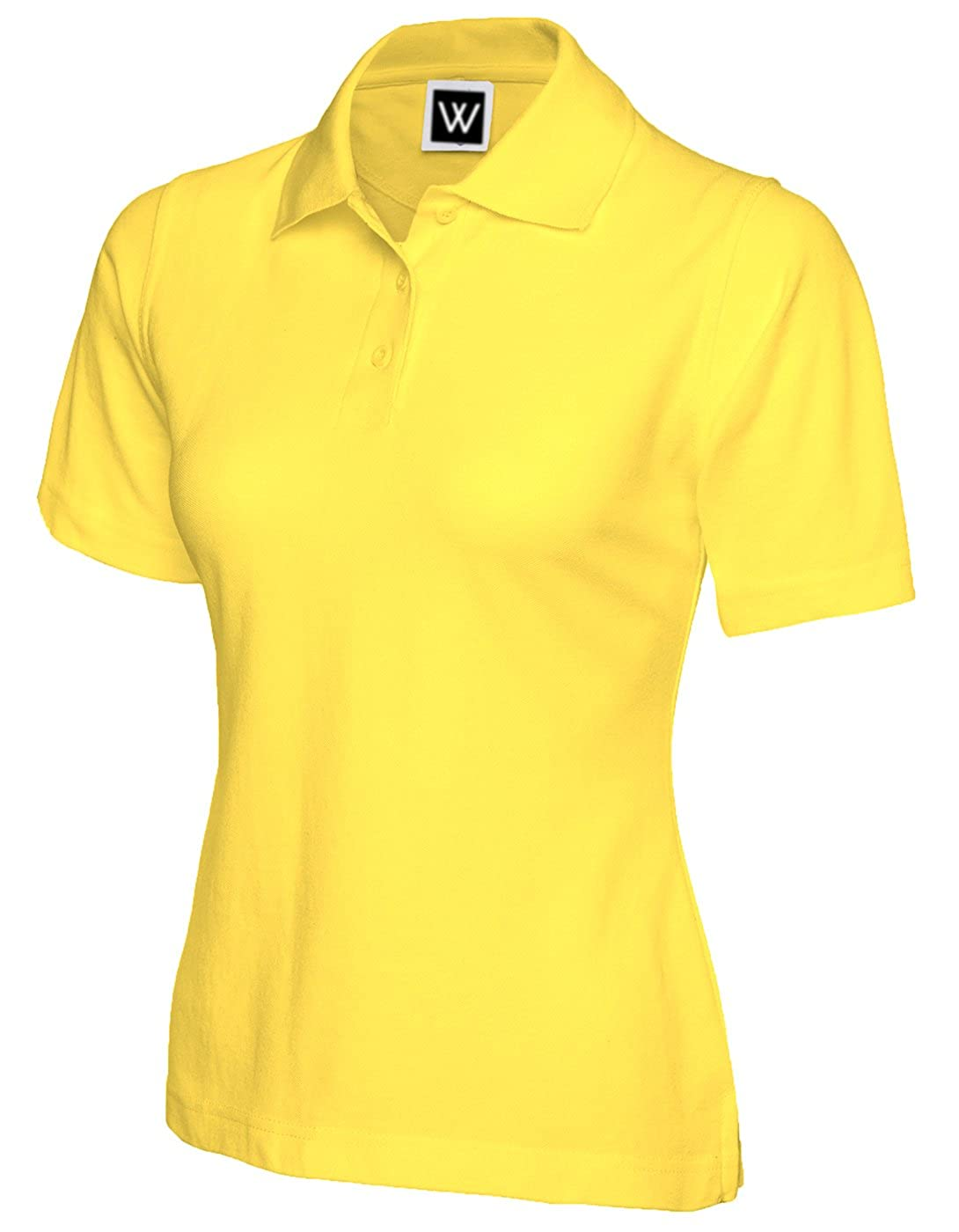 Whitefields - Polo - para mujer amarillo amarillo L: Amazon.es ...
