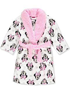 567742ea85 Toddler Girl Bath Robes Minnie Mouse Plush Long Little Kids Robe