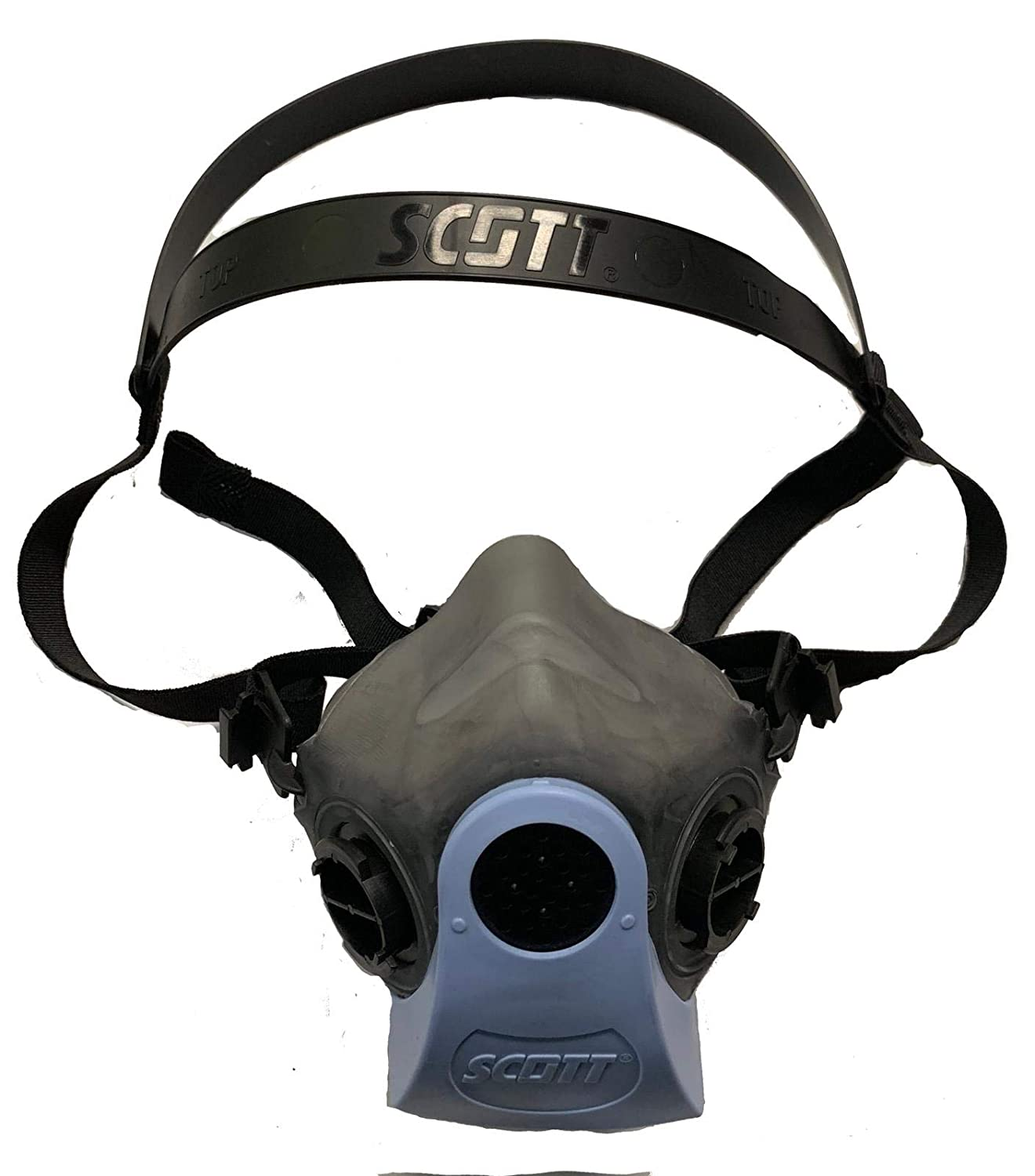 miller electricml00895 half mask respirator m/l single filter