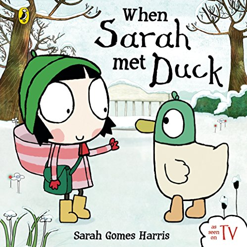 Sarah /& Duck 1002 Soft Toy with Sound-Duck Multi