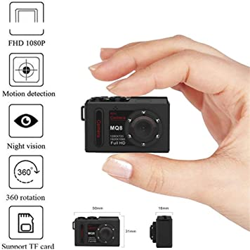 Mini Camcorder 720P High Definition Camera IR Light Video Sound Recording