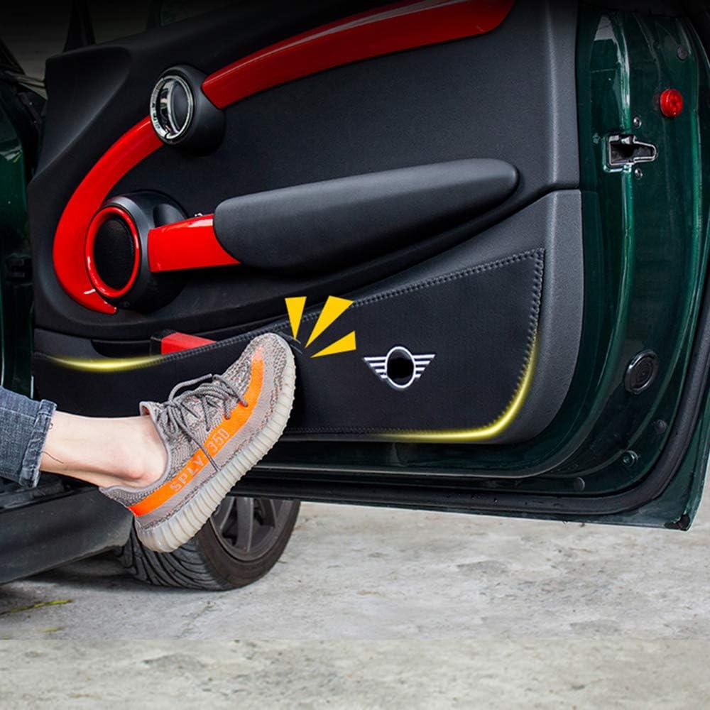 ZHANGDAN Auto Protezione Pannello Porta Interna Decorazione Decorazione Anti-Kick Pellicola AntiGraffio Adesivi per Mini Cooper R56 R60 F54 F55 F56 F60 connazionale