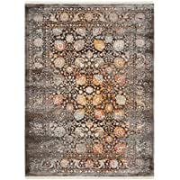 Safavieh Vintage Persian Collection VTP410D Traditional Oriental Brown and Multi Area Rug (3 x 5)