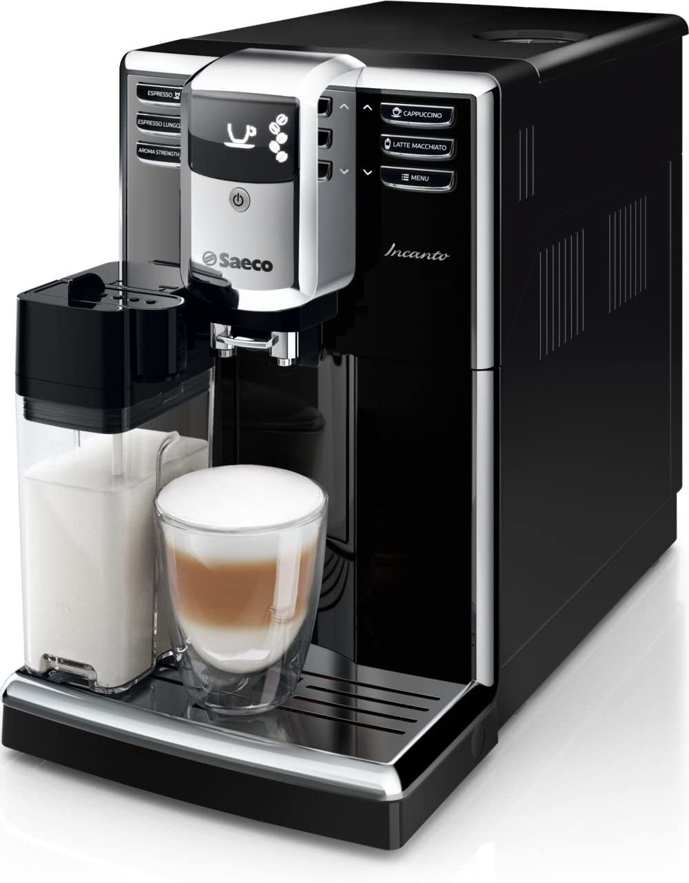 Saeco Incanto HD8916/09 - Cafetera (Independiente, Máquina espresso, 1,8 L, Molinillo integrado, 1850 W, Negro): Amazon.es: Hogar