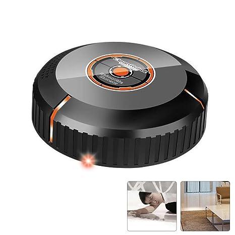 AOLVO Mini Robot Aspirador Automático, Smart Sweeper Bajo Compacto, Detección Automática(No Incluye