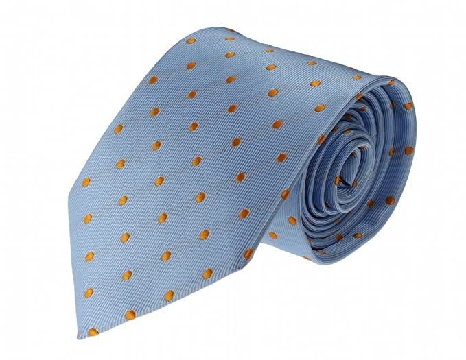 343fe1191c10 Image Unavailable. Image not available for. Color: Glennbrook Mens Necktie  The Professional Polka Dot Collection ...