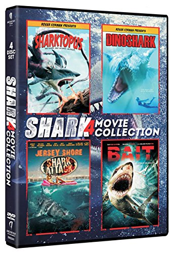 DVD : Shark 4-Pack (Boxed Set, 4 Disc)