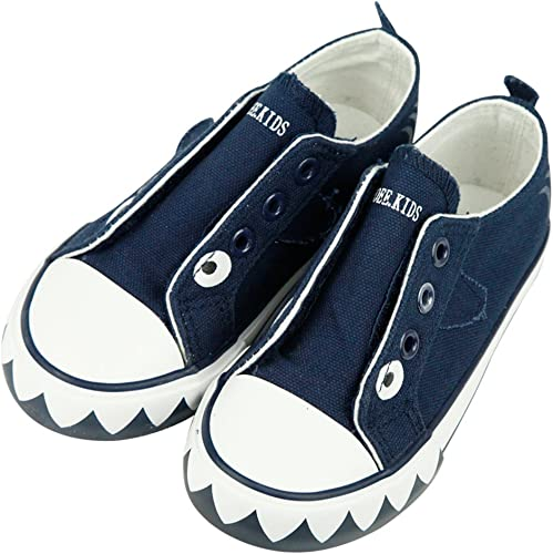 iFANS Child 3D Animal Slip On Shoes Canvas Sneakers Toddler//Little Kid//Big Kid