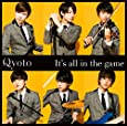 It's all in the game(初回生産限定盤)(DVD付)