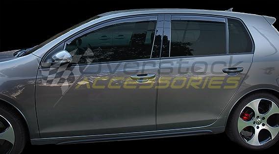 Dark Smoke WeatherTech Custom Fit Front /& Rear Side Window Deflectors for Infiniti I30