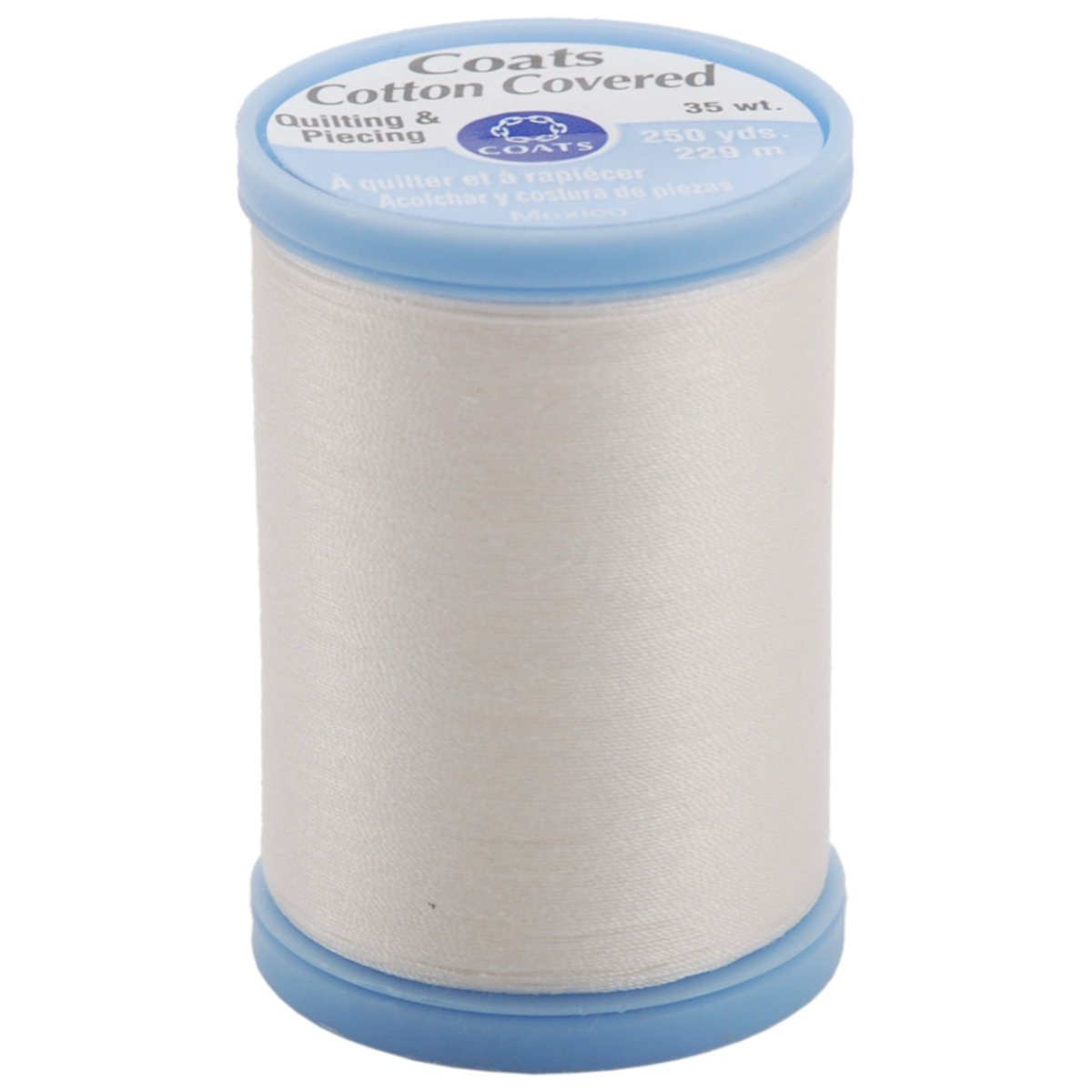 Cotton Covered Quilting & Piecing Thread 250yd-Winter White Coats S925-150