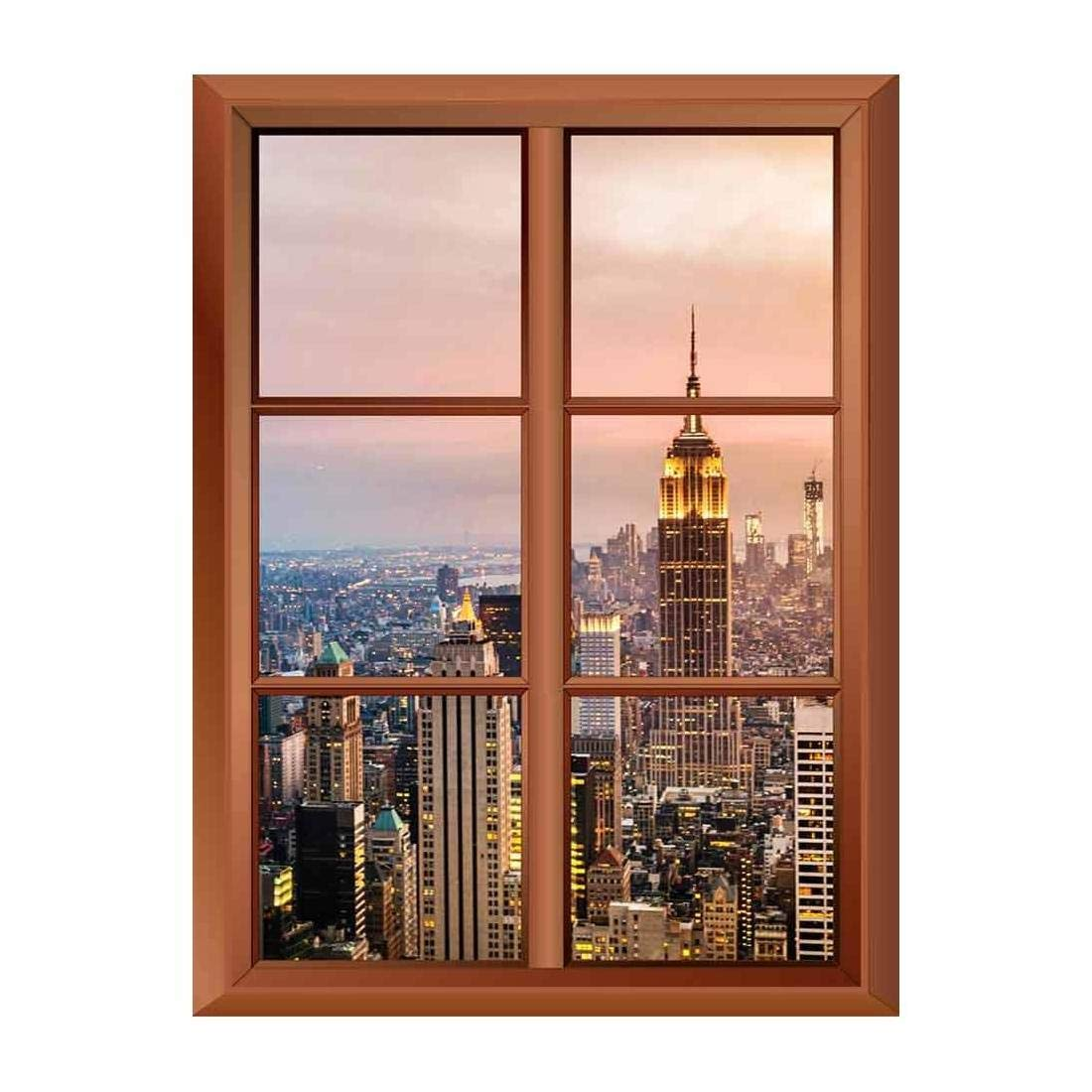 Removable Wall Sticker Wall Mural New York City Skyline With Urban