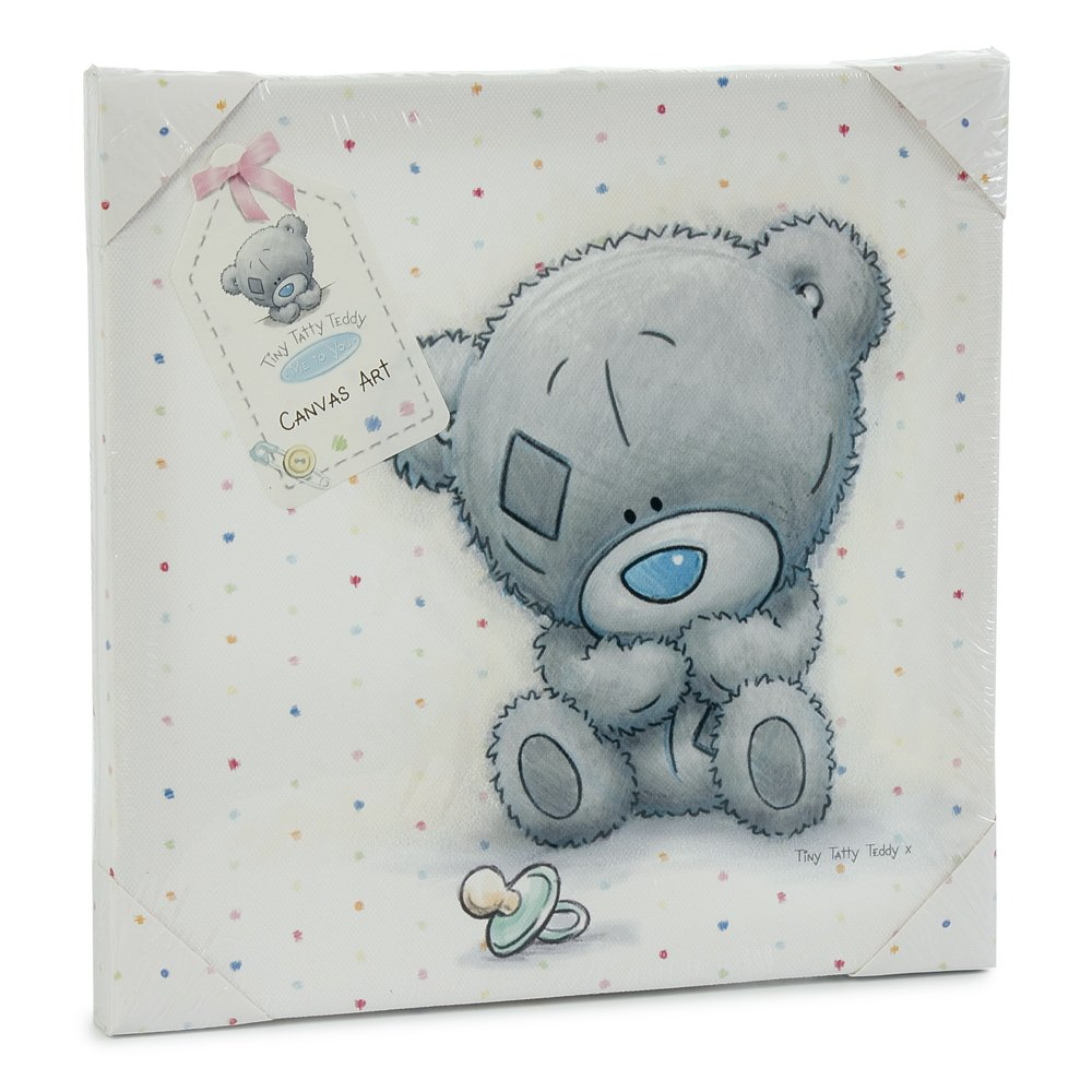 Me to you tiny tatty teddy wall canvas white amazon baby amipublicfo Images
