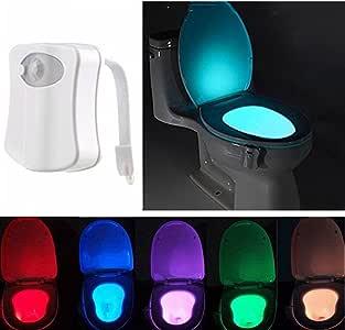 Dewanxin WC Luz Nocturna, WC Luz de Baño,LED Luz de Inodoro Luz ...