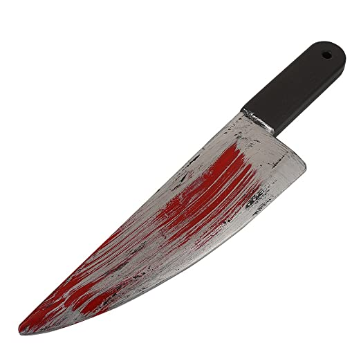 Amazon.com: Kicode Plastic Bloody Halloween Party Prop ...