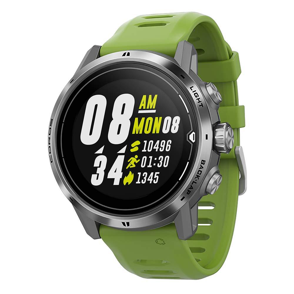 COROS APEX Pro Premium Multisport GPS Watch (Silver) by COROS