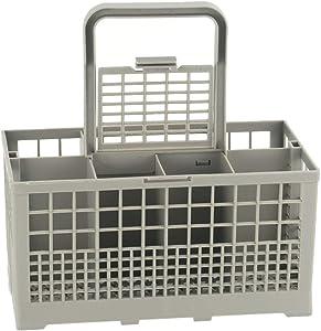 Yone Universal Dishwasher Cutlery Basket - Storage Box Kitchen Aid Spare Part, Dishwasher Storage Box for Kitchen (Grey)
