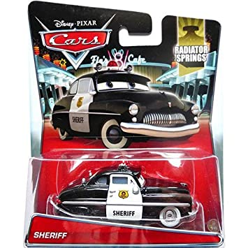 amazon com disney cars sheriff 3 of 19 toys games