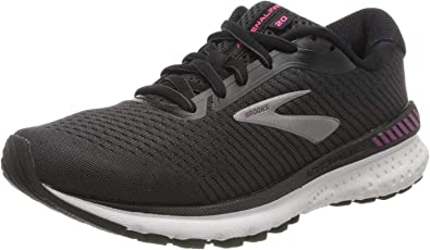 Brooks Adrenaline GTS 20, Zapatillas de Running por Mujer, Negro (Black/White/Hollyhock 041), 45.5 EU: Amazon.es: Zapatos y complementos