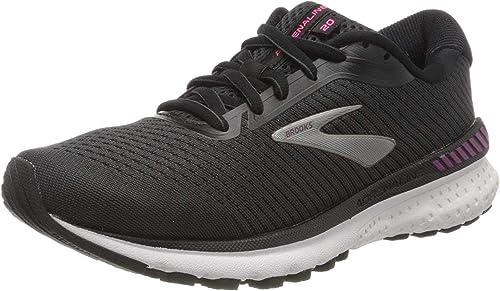 Brooks Adrenaline GTS 20, Zapatillas de Running por Mujer, Negro ...