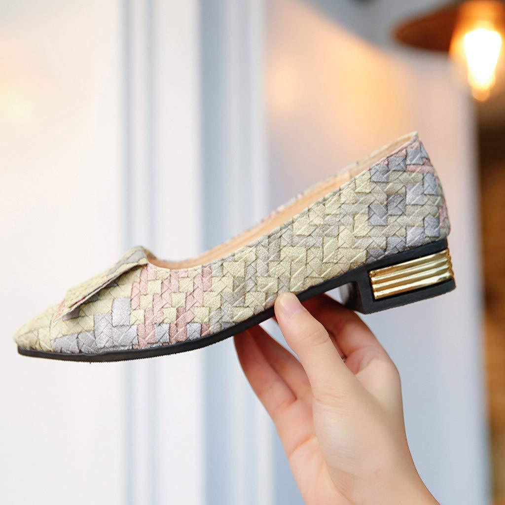 Mocasines Planos para Mujer Vistoso Pintado, Casual Zapatillas Náuticos Adecuado para Oficina y Uso Diario: Amazon.es: Zapatos y complementos