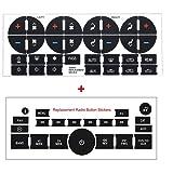 2PCS AC Dash Button Repair Kit & Radio Button