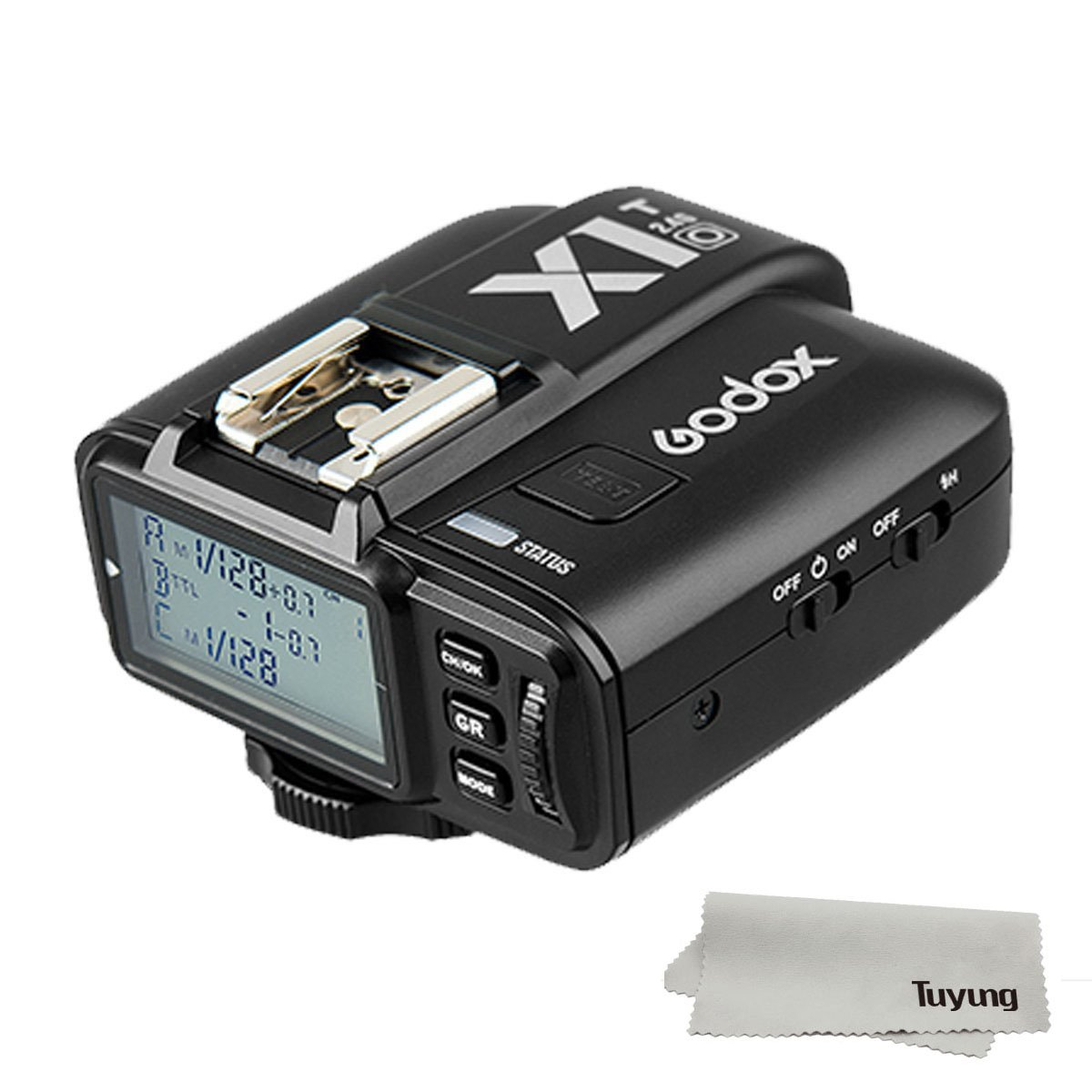 GODOX X1T-O TTL Strobe Trigger 1/8000s HSS 32 Channels 2.4G Wireless LCD Flash Trigger Transmitter for Olympus Panasonic