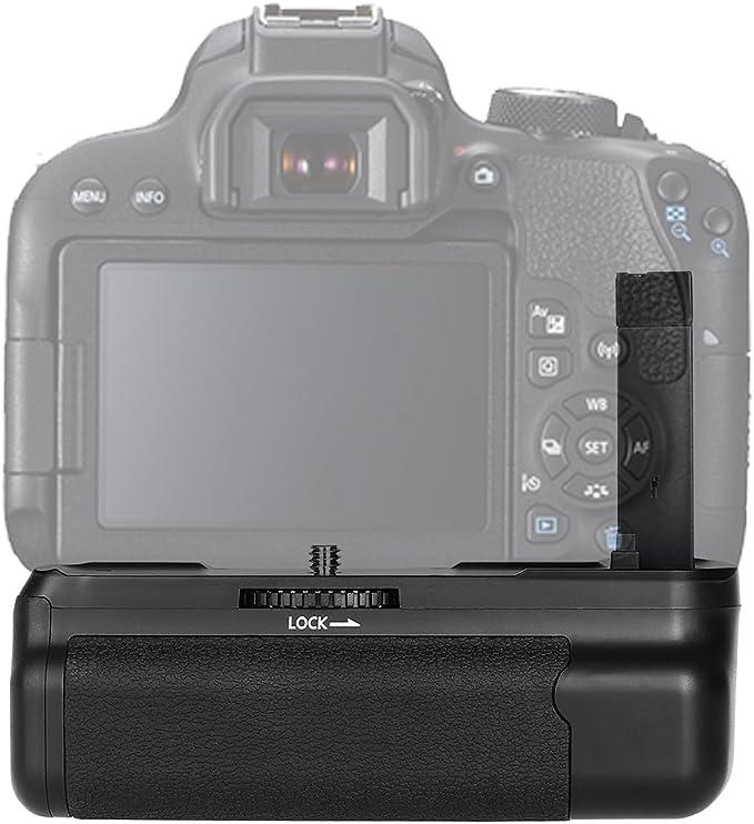 Lepeuxi Soporte Vertical de empuñadura de batería para cámara ...