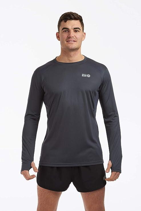 Time to Run Men/'s Wicking Wicking Thermal Long Sleeved Running T Shirt Free P/&P