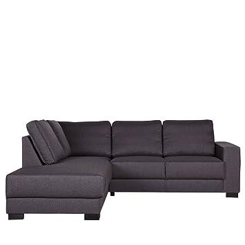 Lounge Zone Ecksofa Sofa Couch Skive Stoffbezug Breite 212cm