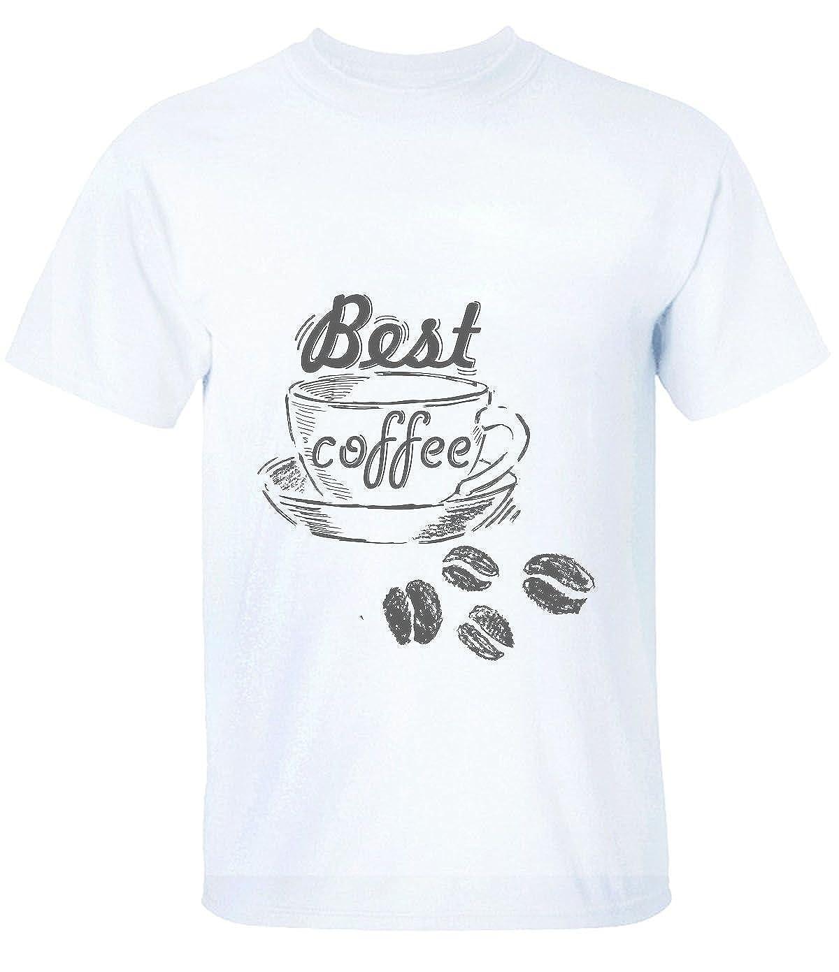 HAIs Mens or Boys Best Coffee Short Sleeve T-Shirt