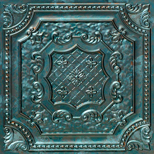 From Plain To Beautiful In Hours DCT04pa-24x24 Ceiling Tile, Patina