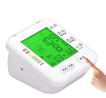 Monitor Automático de Presión Arterial en Brazo Superior, Fecha, Hora - Incluye Manguito Adulto