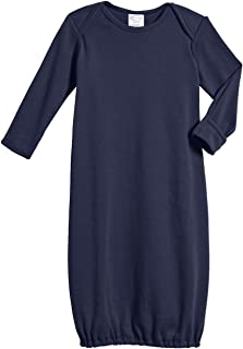 product image for 100% Cotton Baby Sleeping Bag Gown - Navy - NB