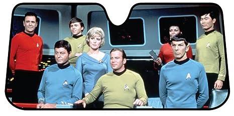 Image Unavailable. Image not available for. Color  Plasticolor 003692R01 Star  Trek Bridge Accordion Bubble Sunshade b5c7e54e9fd
