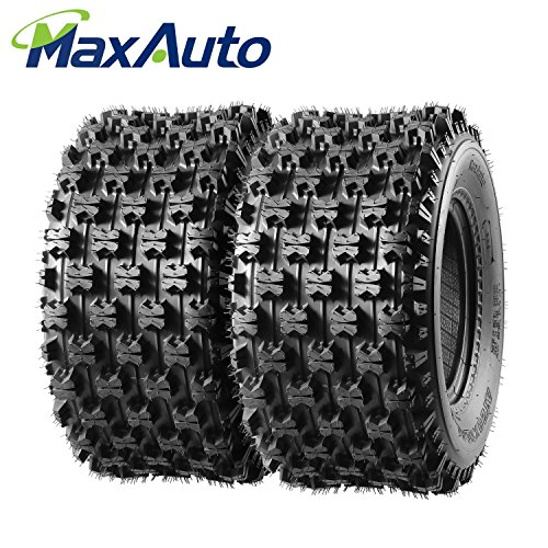 ATV Sport Quad Tires 2 Rear 20X10-9 20 11 9 20x10x9 4Ply for Yamaha Raptor Banshee Honda 400ex 450r 660 700 400 450 350 250 by MaxAuto