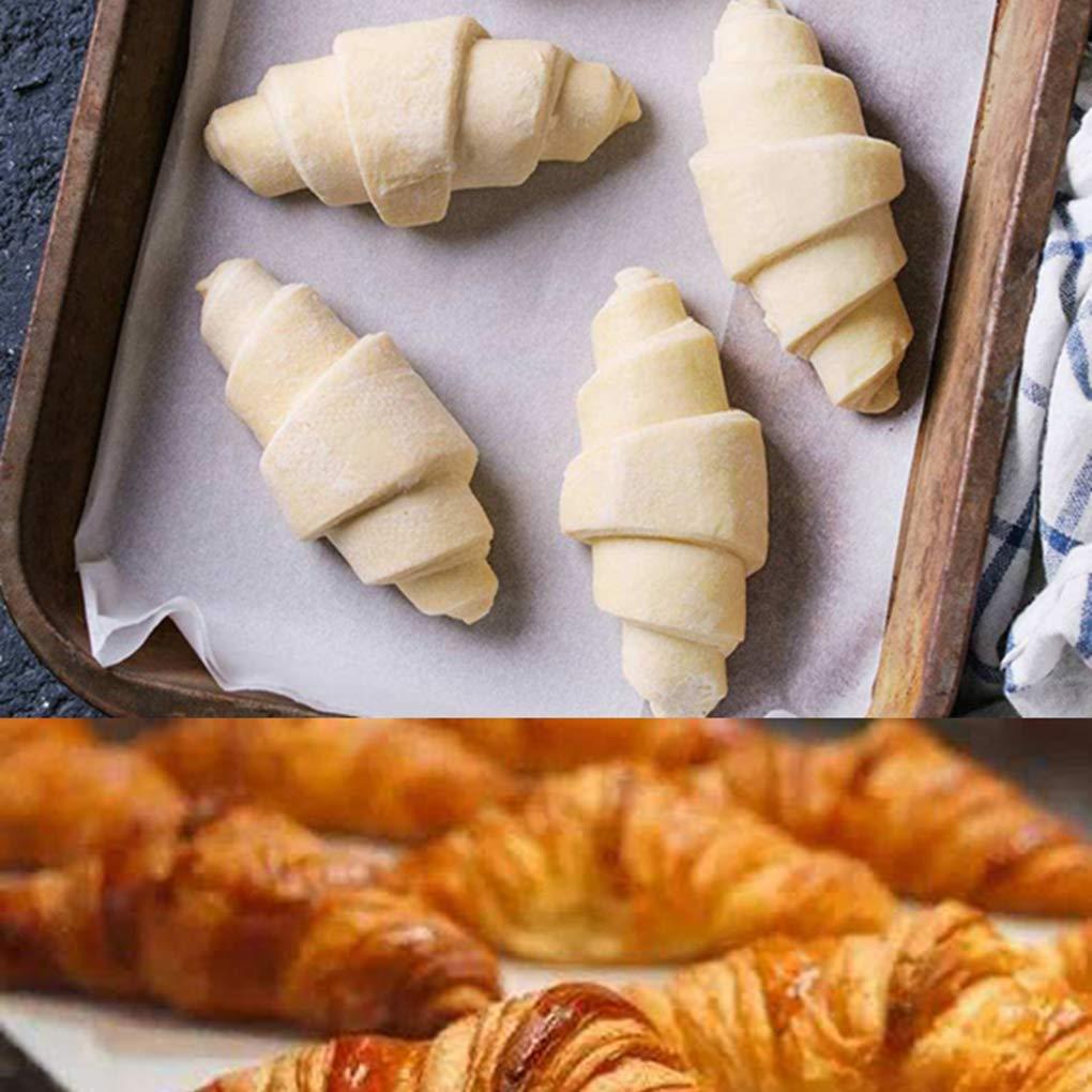Pasteler/ía Panader/ía de Rodillos para Hornear Pasta de az/úcar Que adorna Las Herramientas Molde de la Galleta Rekkles Cruasanes de Rolling Cutter