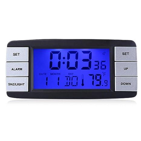 WDUJ Higrómetro de Temperatura Multifuncional con la ...